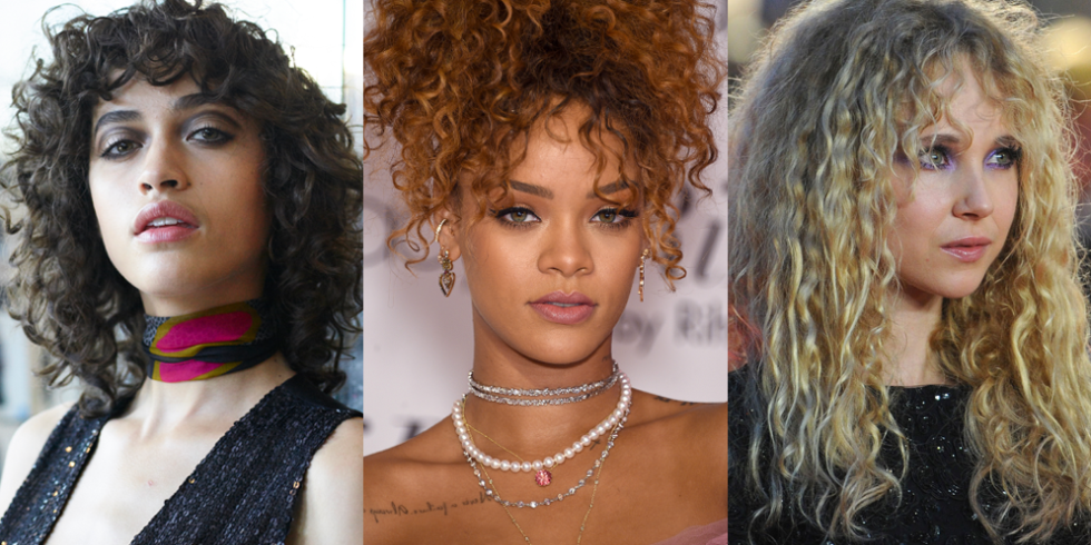 It S Official Curly Bangs Are The New Cool Hair Trend